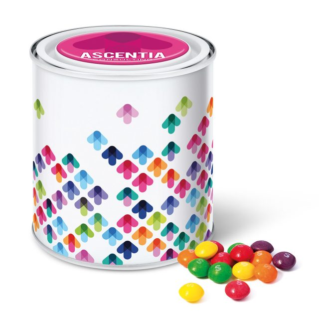 Large Paint Tin – Skittles