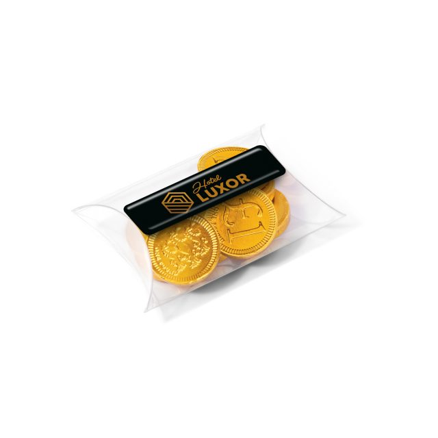 Small Pouch – Chocolate Coins