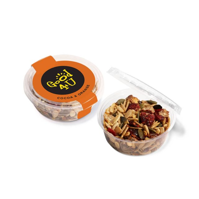 Eco Range – Eco Midi Pot – Cocoa & Orange Snacks