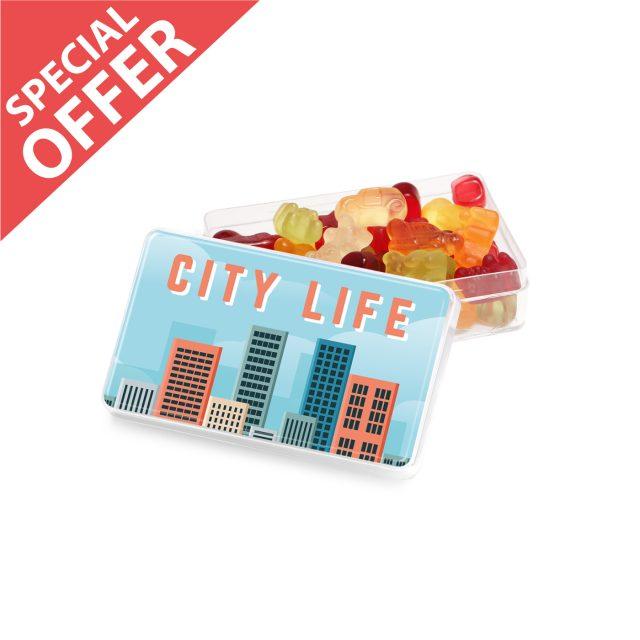 Special Offer – Maxi Rectangle Pot – Fruit Gum Mix